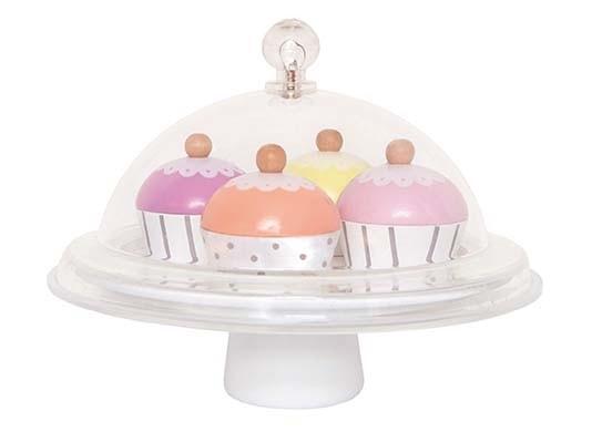 Plateau avec cupcakes