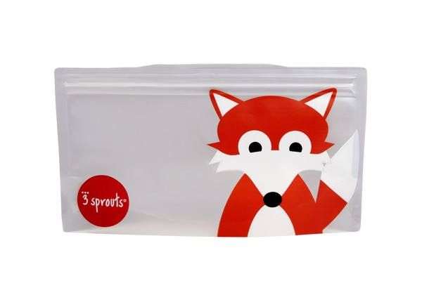 Sac à collation renard (pack de 2)