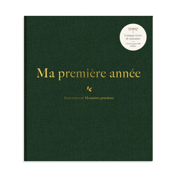 """Album """"Ma première année"""" collection luxe ABC"""