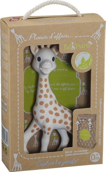 "Sophie la girafe Collection ""So'Pure"" avec packaging ""prêt à offrir"""