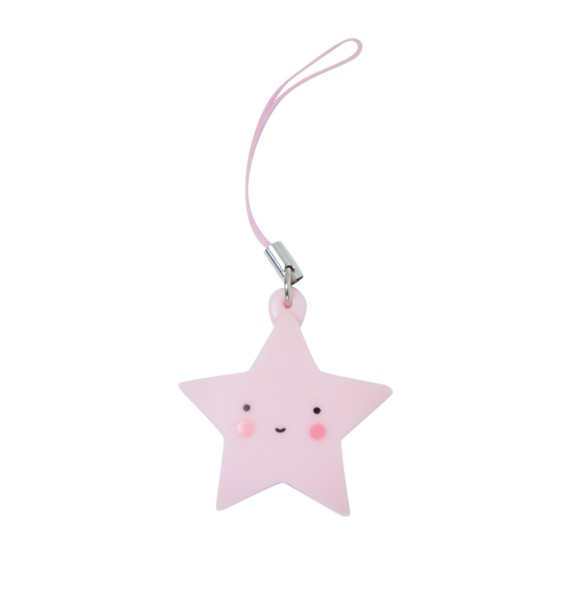 Charm étoile - rose