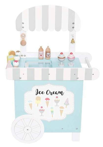 Boutique crèmes glacées bois
