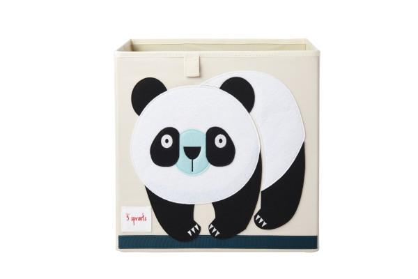 Cube de rangement jouets panda