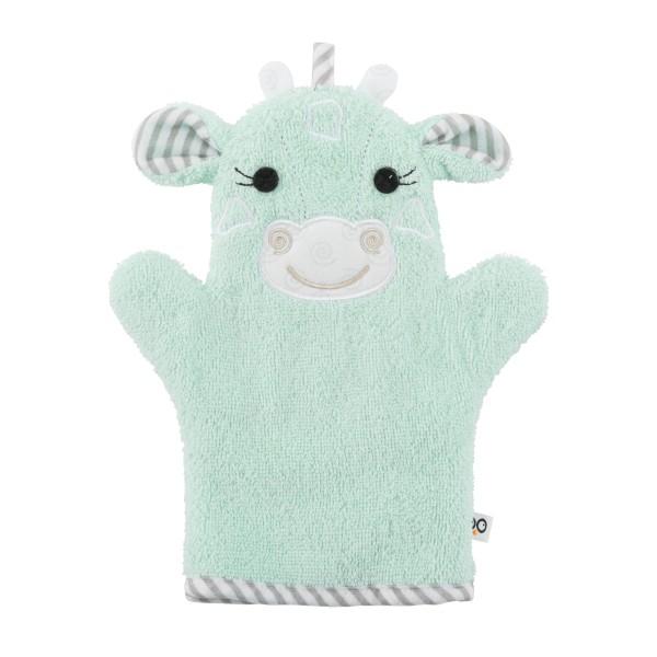 """Gant de bain """"Marionnette"""" girafe"""