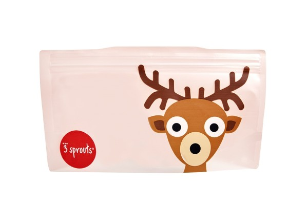 Sac à collation cerf (pack de 2)