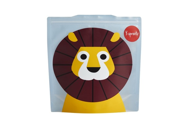 Sac à sandwich lion (pack de 2)