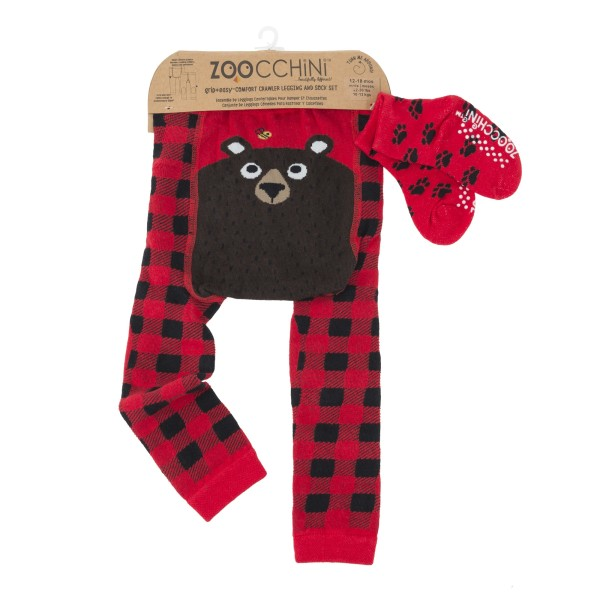 Leggings & chaussettes - ours - 6-12 M