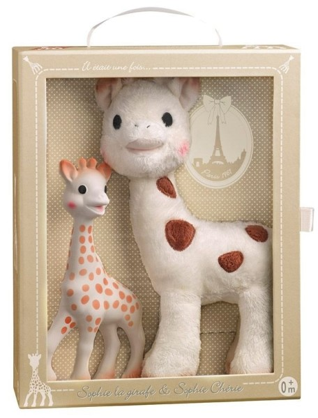 Set Sophie Chérie + Sophie la girafe