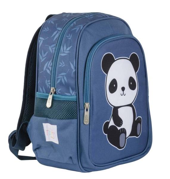 Sac à dos bleu panda - nouveau