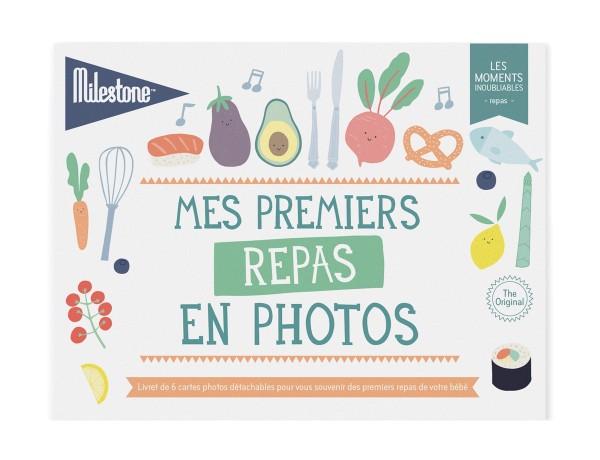 """Livret de cartes photos """"Mes premiers repas"""""""