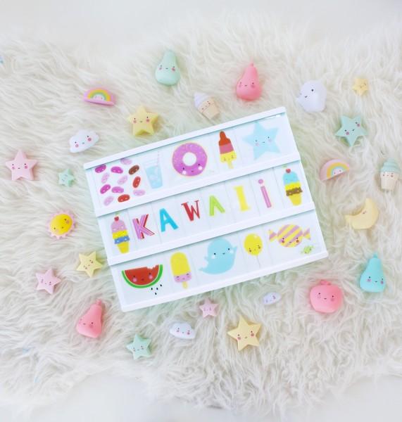 Set de lettres - Kawaii