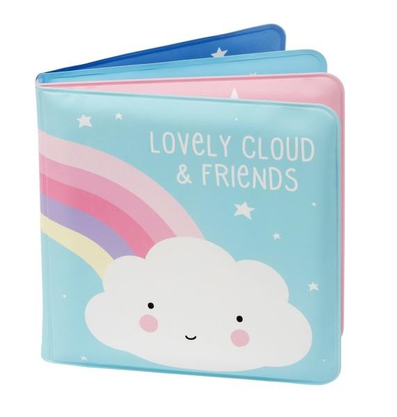 Livre de bain nuage et amis